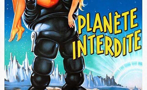 """Affiche du film """"Planète interdite"""""""