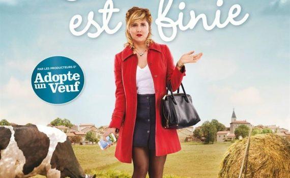 """Affiche du film """"L'École est finie"""""""