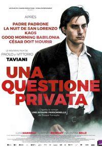 """Affiche du film """"Una questione privata"""""""