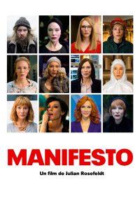 """Affiche du film """"Manifesto"""""""