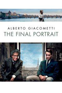 """Affiche du film """"Alberto Giacometti, The Final Portrait"""""""