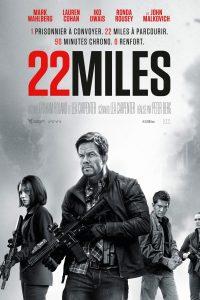 """Affiche du film """"22 Miles"""""""