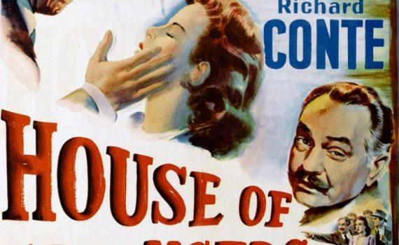 """Affiche du film """"La Maison des étrangers"""""""