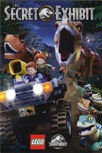 "Affiche du film ""LEGO Jurassic World: L'expo Secrète"""