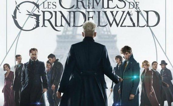 """Affiche du film """"Les Animaux Fantastiques - Les Crimes de Grindelwald"""""""