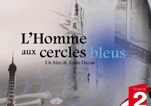 """Affiche du film """"L'Homme aux cercles bleus"""""""