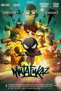 "Affiche du film ""Mutafukaz"""