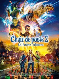 """Affiche du film """"Chair de poule 2 : Les Fantômes d'Halloween"""""""