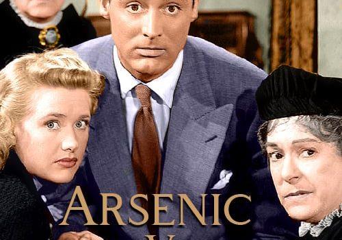 """Affiche du film """"Arsenic et vieilles dentelles"""""""