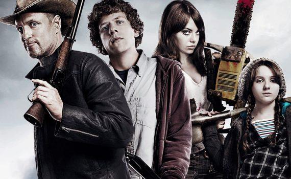 """Affiche du film """"Bienvenue à Zombieland"""""""