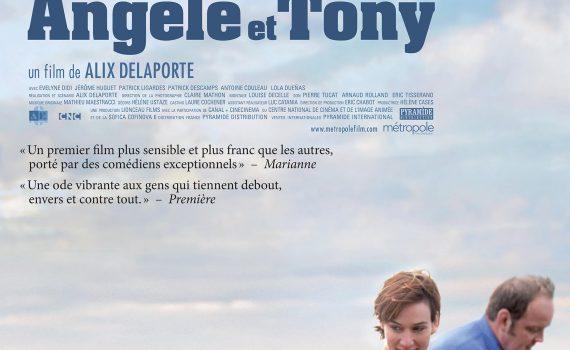 """Affiche du film """"Angèle et Tony"""""""