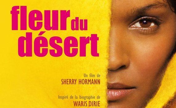 """Affiche du film """"Fleur du Désert"""""""