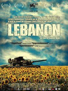 """Affiche du film """"Lebanon"""""""