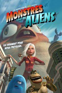 """Affiche du film """"Monstres contre Aliens"""""""