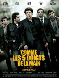 """Affiche du film """"Comme les 5 doigts de la main"""""""