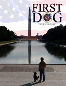 """Affiche du film """"Un chien à la Maison Blanche"""""""
