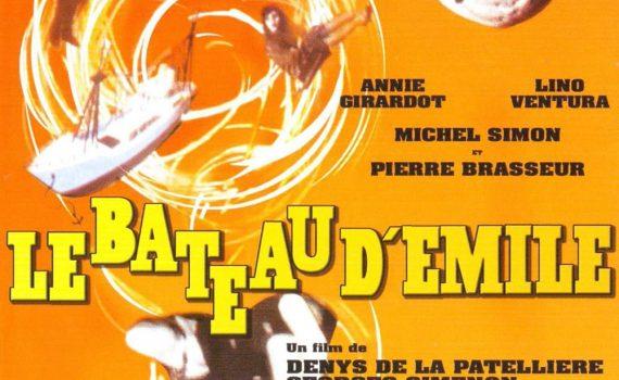 """Affiche du film """"Le bateau d'Émile"""""""