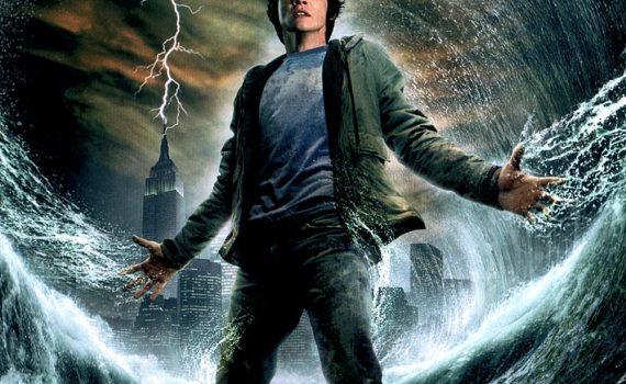 """Affiche du film """"Percy Jackson : Le Voleur de foudre"""""""