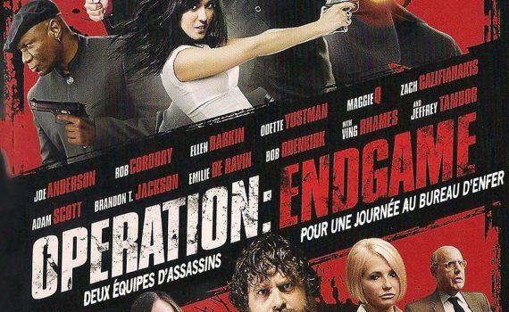 """Affiche du film """"Operation : Endgame"""""""