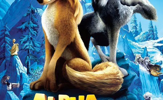 """Affiche du film """"Alpha et Omega"""""""