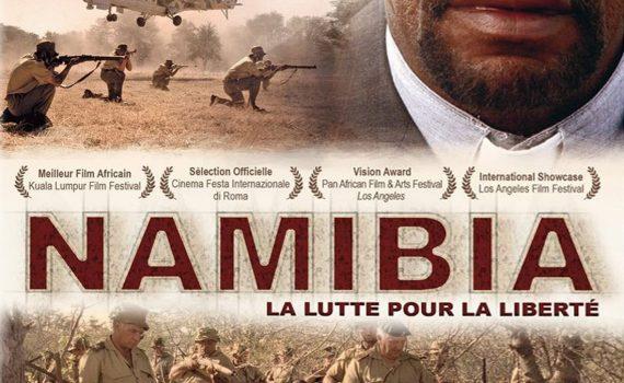 "Affiche du film ""Namibia"""