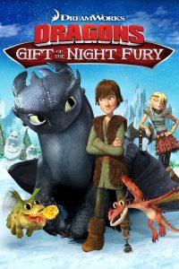 """Affiche du film """"Dragons : Le cadeau du Furie Nocturne"""""""
