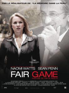 """Affiche du film """"Fair Game"""""""
