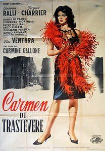 "Affiche du film ""Carmen 63"""