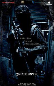 "Affiche du film ""Incident"""