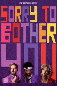"""Affiche du film """"Sorry to Bother You"""""""