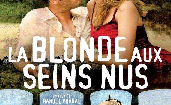 """Affiche du film """"La Blonde aux seins nus"""""""