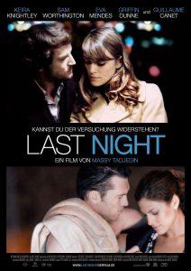 "Affiche du film ""Last Night"""