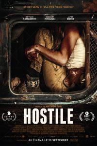 "Affiche du film ""Hostile"""