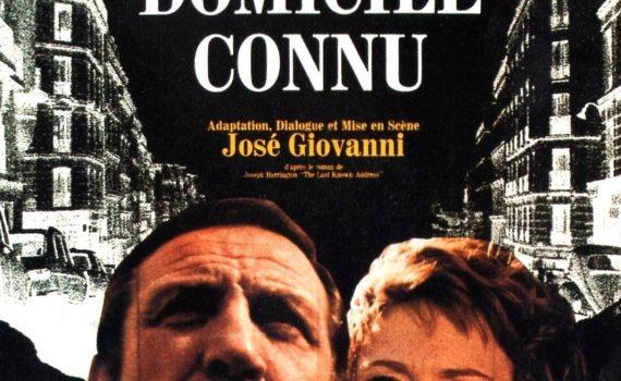 "Affiche du film ""Dernier domicile connu"""