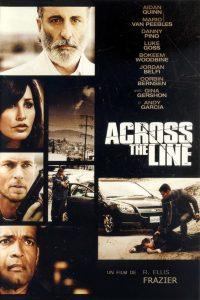 """Affiche du film """"Across the Line"""""""