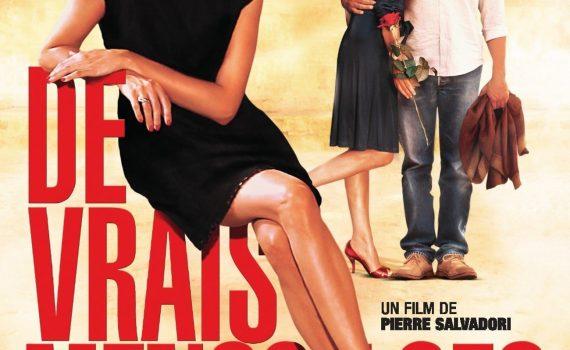 """Affiche du film """"De vrais mensonges"""""""