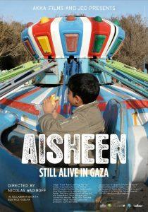 """Affiche du film """"Aisheen (chroniques de Gaza)"""""""