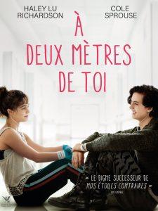 """Affiche du film """"À deux mètres de toi"""""""