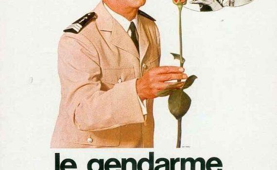 """Affiche du film """"Le gendarme se marie"""""""