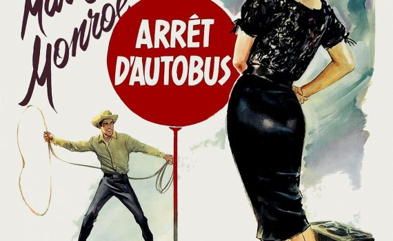 """Affiche du film """"Arrêt d'autobus"""""""