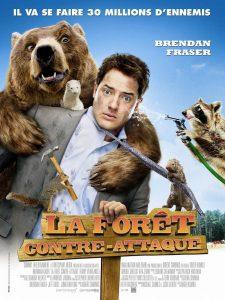 """Affiche du film """"La forêt contre-attaque"""""""