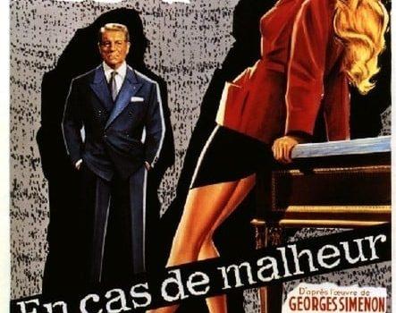 """Affiche du film """"En cas de malheur"""""""