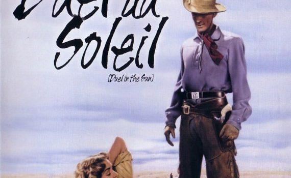 """Affiche du film """"Duel au soleil"""""""