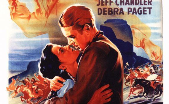 """Affiche du film """"La Flèche Brisée"""""""