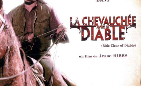 """Affiche du film """"La Chevauchée avec le diable"""""""