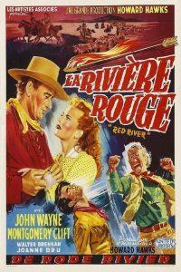 """Affiche du film """"La Rivière rouge"""""""
