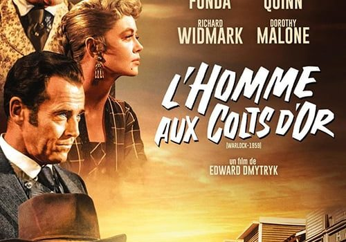 """Affiche du film """"L'homme aux colts d'or"""""""