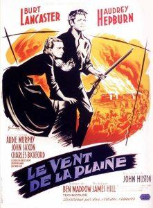 """Affiche du film """"Le vent de la plaine"""""""