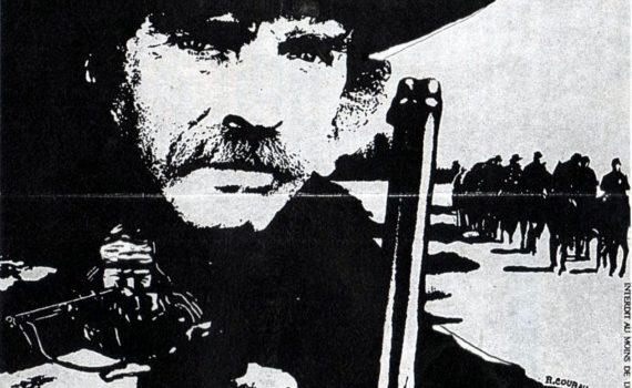 """Affiche du film """"Fureur Apache"""""""