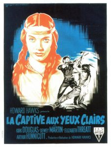 """Affiche du film """"La Captive Aux Yeux Clairs"""""""